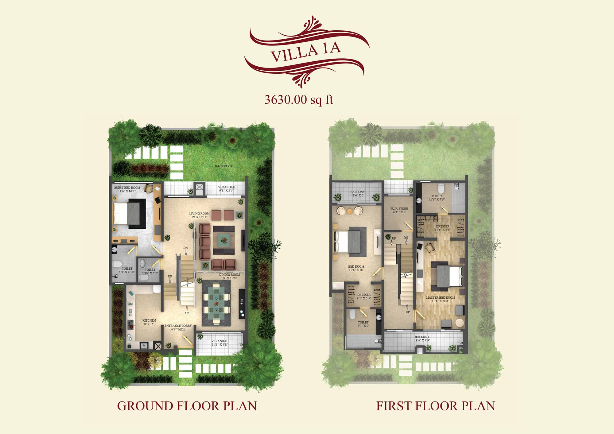 4 Bhk Villa In Sarjapur Road