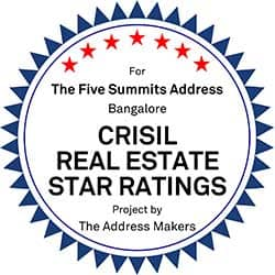 Crisil Realestate Star Ratings